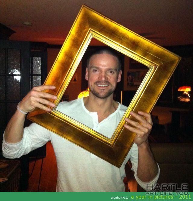 I was framed!!