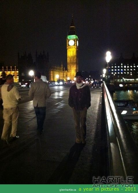 Big Ben. And little Glen.  Not the other way around. Carry on.