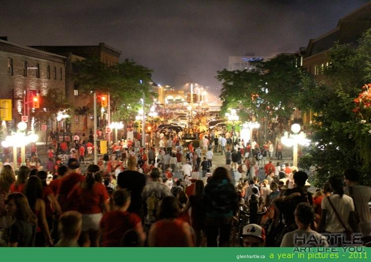Fantastic Canada Day all day, great fireworks, and a little social in the market