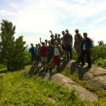 Great hike today gang ~ Eardsley Escarpment