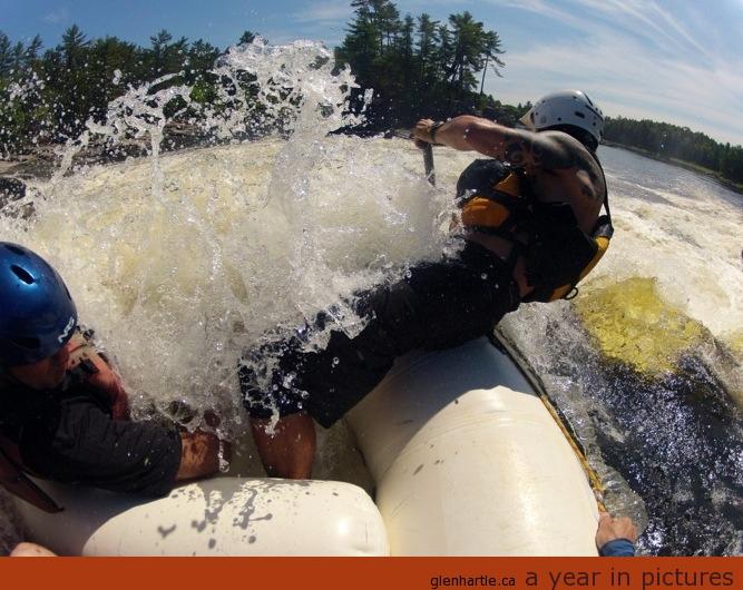 Paddle HARD!!