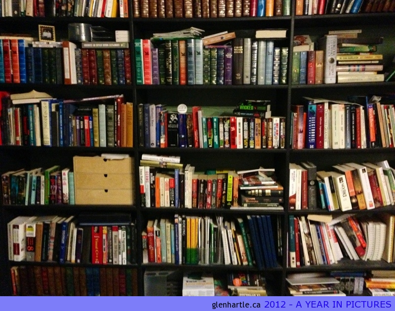 What's on YOUR #bookshelf?