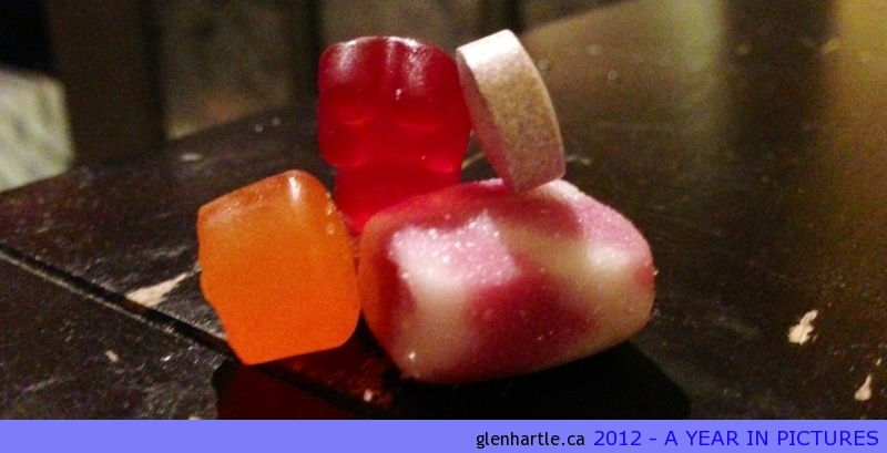 Gummy vitamins – much more fun than veggies :)
