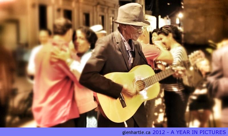 Beautiful and passionate music everywhere