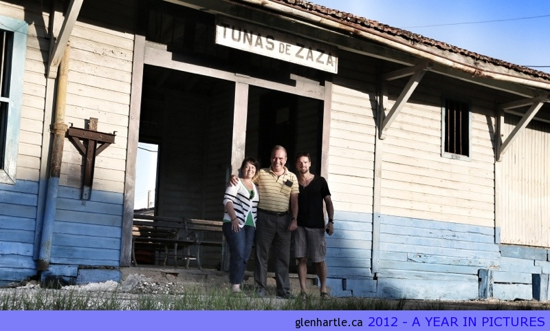 Proof! We found it ~ the train station in Tunas :)