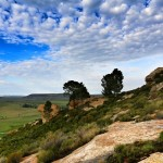 The landscape in South Africa is varied and beautiful all.  Here is another view of it.