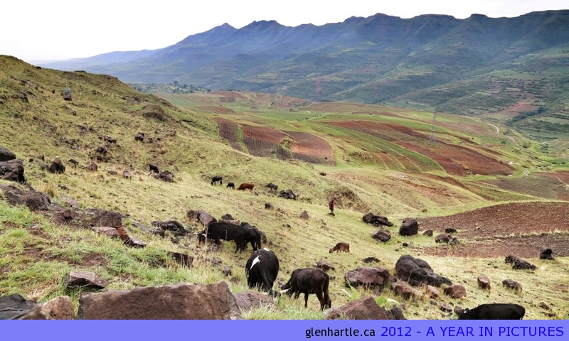A Christmas morning drive up to the Bokong Nature Reserve in Lesotho ~ beautiful drive