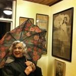 Delightful evening with Thelma. Happy birthday my dear!