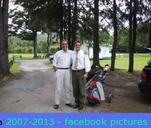 Hal, mom & I went golfing back in 2001 (I think).