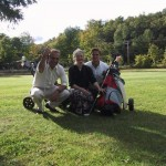 Same golf trip. Mom is a hoot to golf with!