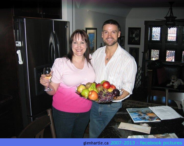The best guests arrive with new fruit bowls full of fruit…