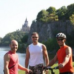 Tuesday, August 28 – Bike ride and roller blade West on the parkway.