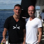 shane and i coming back from half moon key