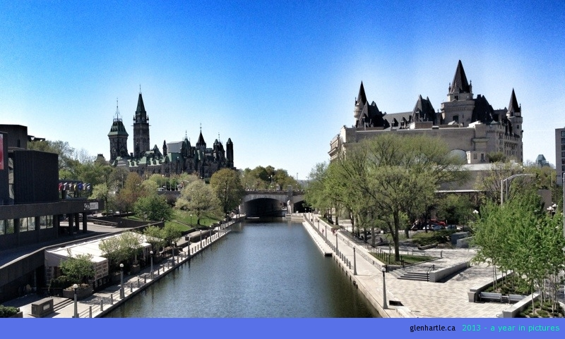 Icons of Ottawa ~ Parliament and the Chateau Laurier