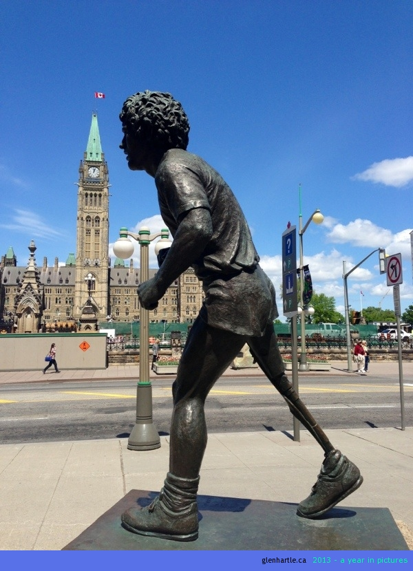 Icons of Ottawa ~ Parliament and Terry Fox