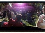 Soho Square. Panorama. Everyone here is quite disinterested in the wedding but very happy to have vacation days.