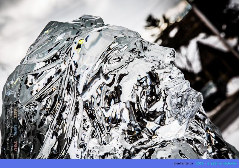Ottawa Winterlude – Ice Lady