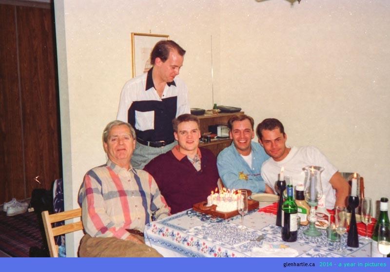 Throwback Thursday: 23rd birthday celebration
