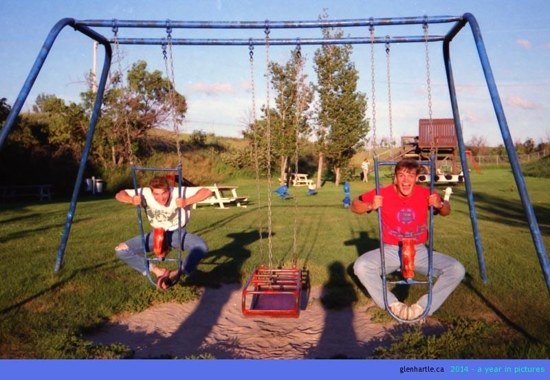 Throwback Thursday: Somewhere in Saskatchewan in 1991…