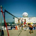Throwback Thursday: 1991 Saskatchewan Provincial Beach Finals (that's me in the green shorts)