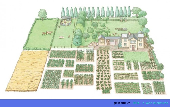 Reposted: How To Start A 1-Acre, Self-Sustaining Homestead