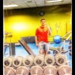 Workout selfie ~ work it!