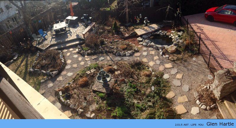 Baby garden steps…