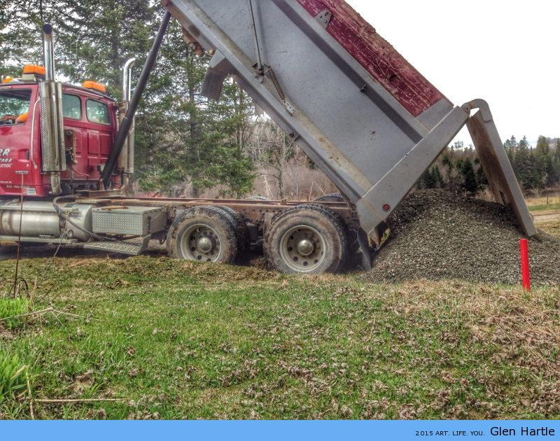 Gravel delivery ~ check