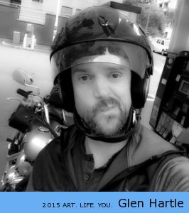 You saw me arrive on my bike, you saw the helmet when I arrived at the counter to pay ~ do you REALLY think I want a cup of coffee to go?