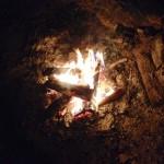 First bonfire