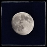 Lovely moon this evening...