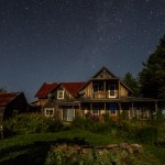 The Milky Way over Home