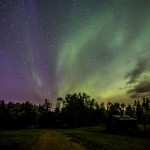 Stars and Northern Lights