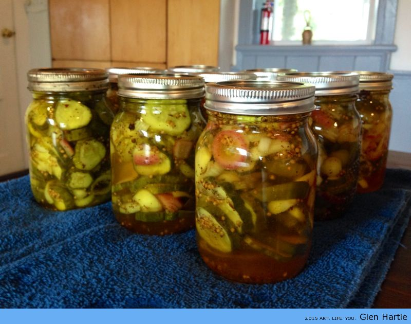 Ta-da! Pickles!