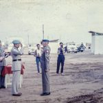 Grandpa receiving his medal ~ not a D-Day event, but this day always has me reflecting upon grandpa