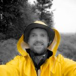 Photographer Selfie in the Rain