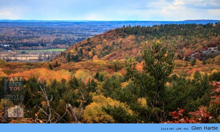 The Eardley Escarpment In Full Colour ~ where the Canadian Shield meets the St Lawrence Lowlands