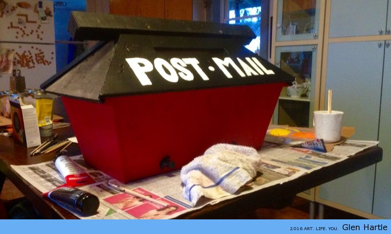 The post box is ready! Anything to mail?
