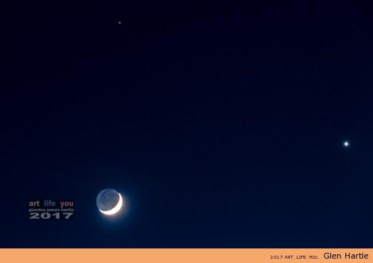 The Moon, Venus and Mars ~ SkyDance Part Deux