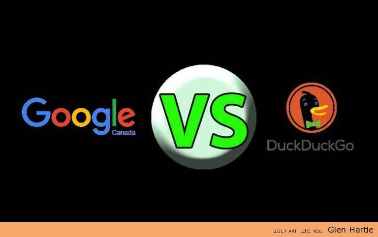Google VERSUS DuckDuckGo