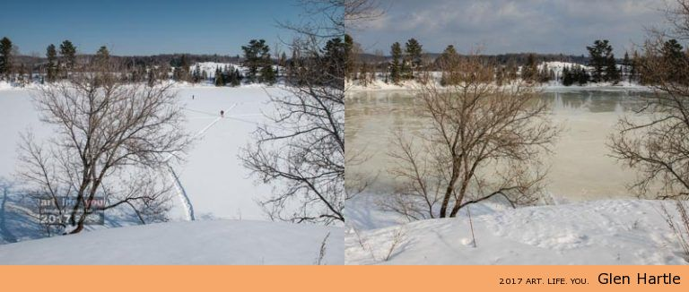 wow – what a difference five days make!