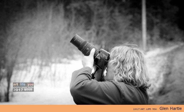 shhhh….photographer at work