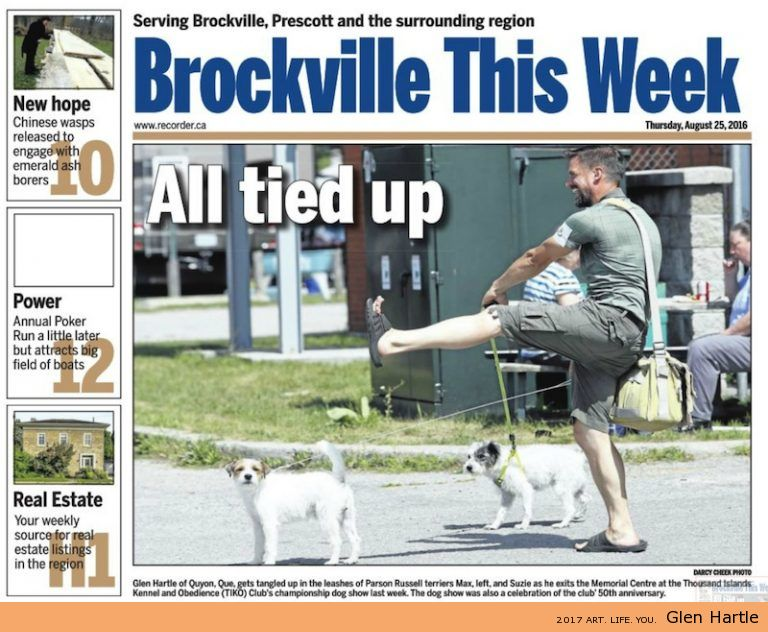 Brockville This Week – All Tied Up – I made the news!