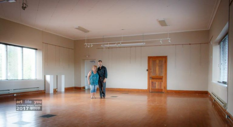 The gallery is back as we found it – empty and ready for the next show :)