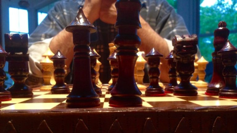 Friday night fellowship – chess