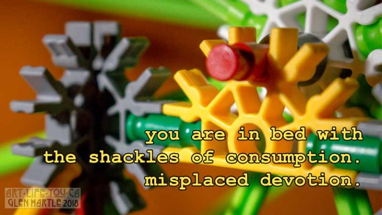 Shackles of consumption