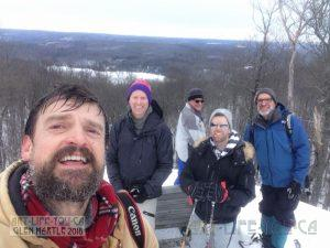 Time Out Hiking Club ~ Snowshoeing #28 The Ramparts Trail and Potluck