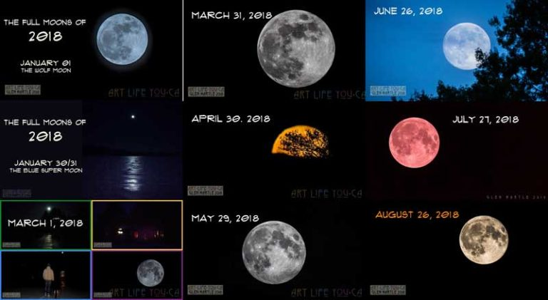 Adding last night's full moon to the project: