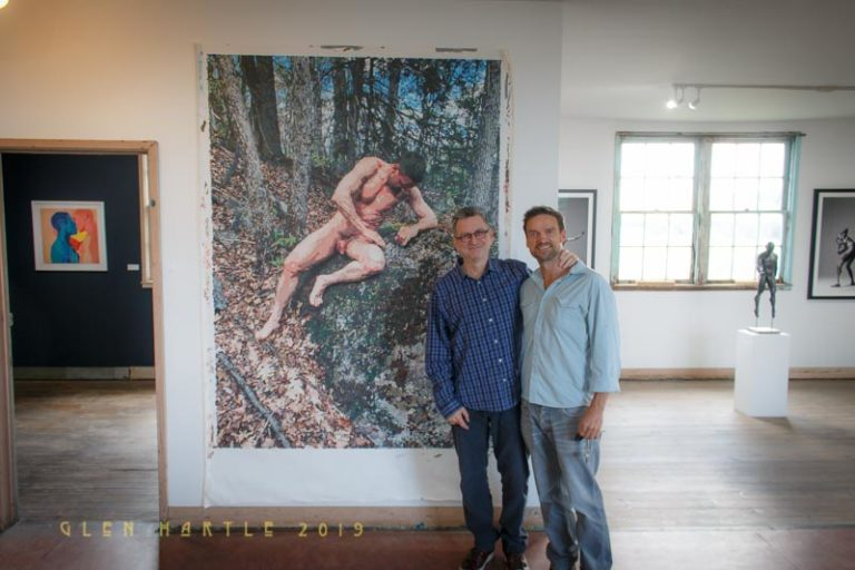 Oberon ~ as depicted by Terry Brynaert at Gallery Maison Depoivre,in Picton, Ontario ~ guess who was the model! :)