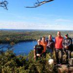 We tackled the Oiseau Rock Trail (Sentier du Rocher-à-l'Oiseau) on the weekend. Weather, nature and fellowship delivered - thanks to all.